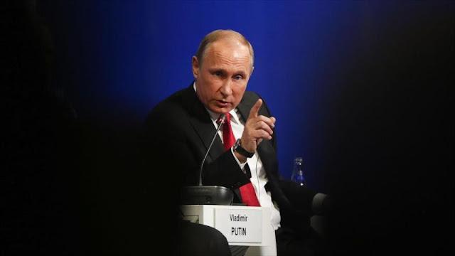 Putin califica de 'gran error' la retórica antirrusa de EEUU