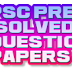 KERALA PSC PREVIOUS / SOLVED QUESTION PAPERS-7 (H)