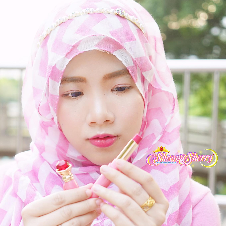 Sheemasherry Sheema Sherry Sailor Moon Miracle Romance Makeup Moisture Rouge Moonlight Memories Disguise Pen Kawaii Hijabi Hijab Muslimah