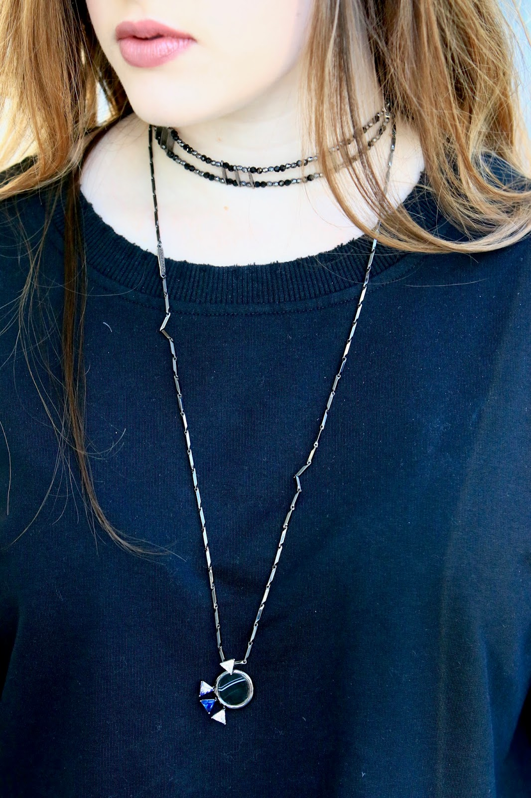 Free People black choker