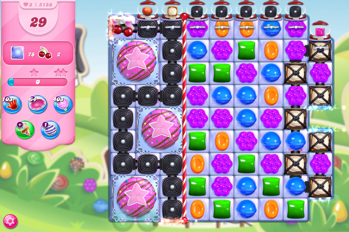 Candy Crush Saga level 5156