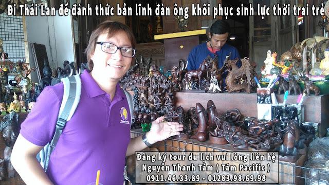 Đi Thái Lan để đánh thức bản lĩnh đàn ông khôi phục sinh lực thời trai trẻ