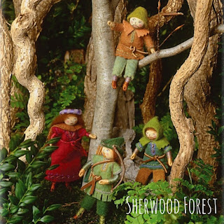 Sherwood Forest from Felt Wee Folk
