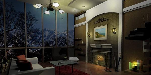 Ruangan dengan pencahayaan bagus