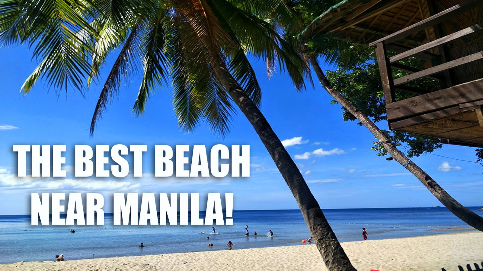 BEST BEACH NEAR MANILA