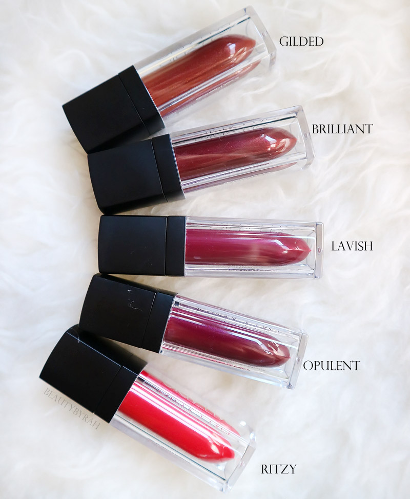 Palladio Velvet Matte Metallic Cream Lip Colour Review and Swatches