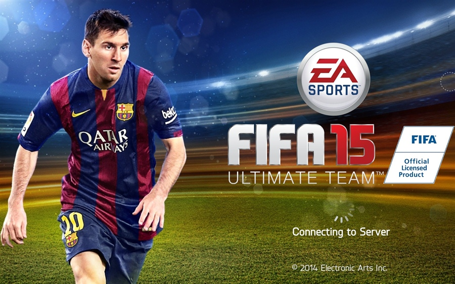 FIFA 15 Ultimate Team Edition Download Poster