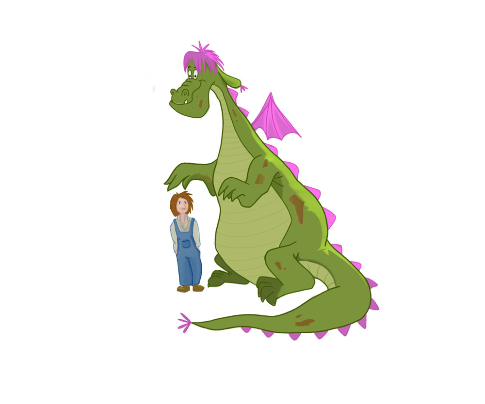 #8-top-pete-dragon-printable-coloring-pages