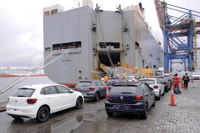 Volkswagen e FCA bateram recorde de exportações em 2017