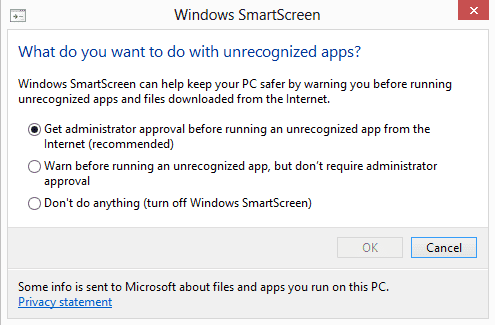 "Hướng dẫn sửa lỗi ""Windows protected your PC"" , ""Windows smartscreen prevented an unrecognized app from starting. Running this app might put your PC at risk"""