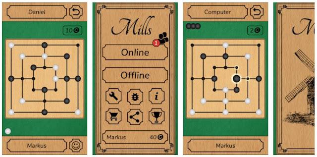 Download latest Mills - Nine Men's Morris Games winning tips