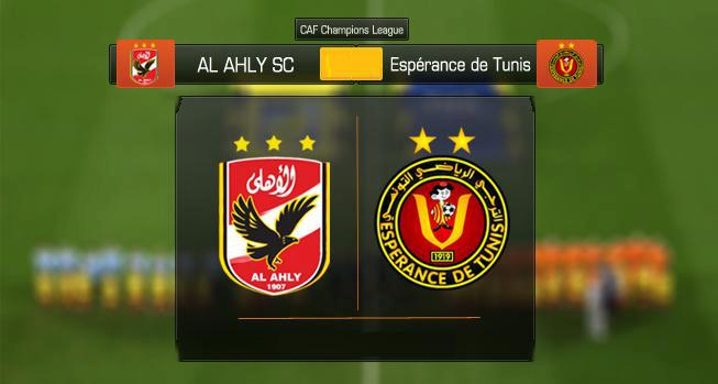 نتيجة مباراة الأهلي والترجي التونسي اليوم والقنوات المجانية الناقلة للمباراة دوري أبطال أفريقيا