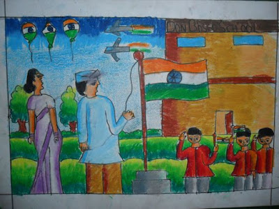 26 January Republic Day Drawings, Paintings, Sketches, Images for Childs