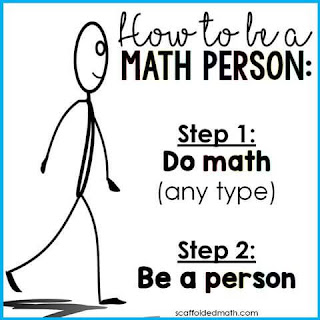 How to be a Math Person poster