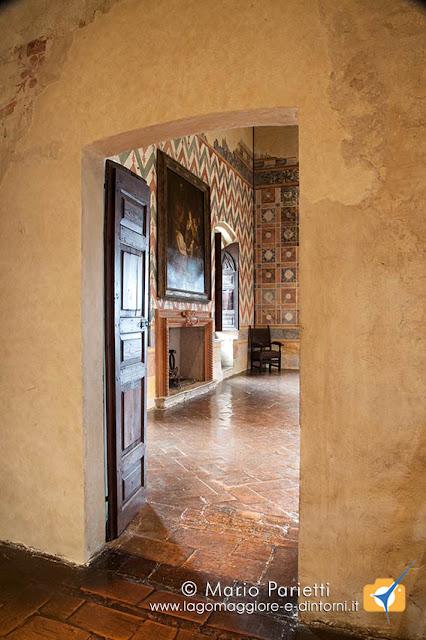 Rocca di Angera, sale storiche