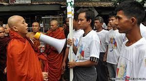 Dianggap Provokator Perpecahan Muslim, Dua Aktivis Buddha Ditangkap Kepolisian Myanmar