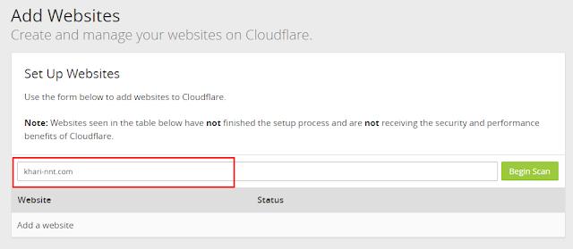 Trỏ Tên Miền Về Cloudflare