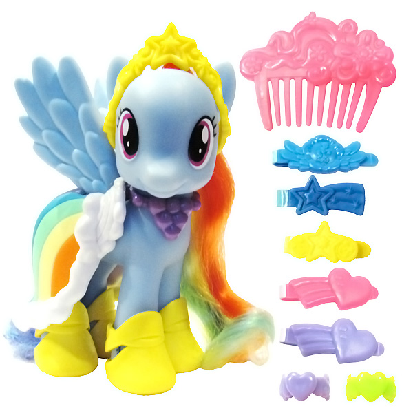 My Little Pony Fashion Style Rainbow Dash Brushable Pony Mlp Merch