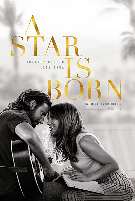 A Star is Born 2018 movie poster Bradley Cooper Lady Gaga