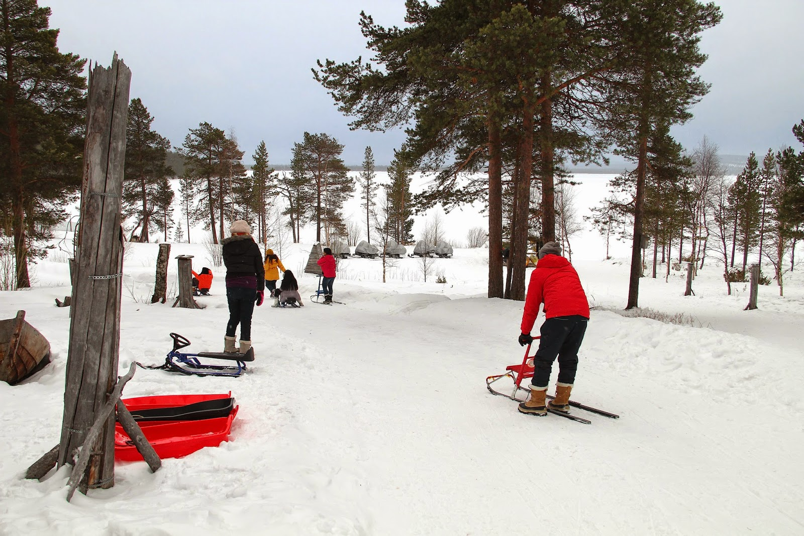 Winter Activities Finland Itinerary