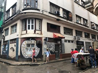 La Habana Vieja. Barrio del arte