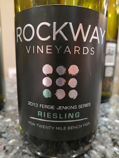 Rockway Vineyards Fergie Jenkins Riesling 2013 (88 pts)