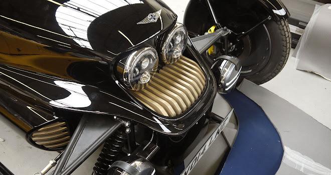 Morgan EV3 brass heatsinks