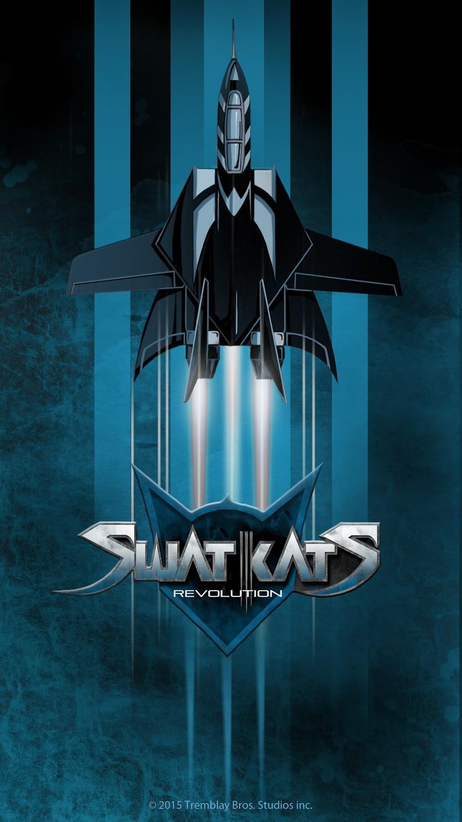 Swat Kats Revolution: MOBILE WALLPAPERS
