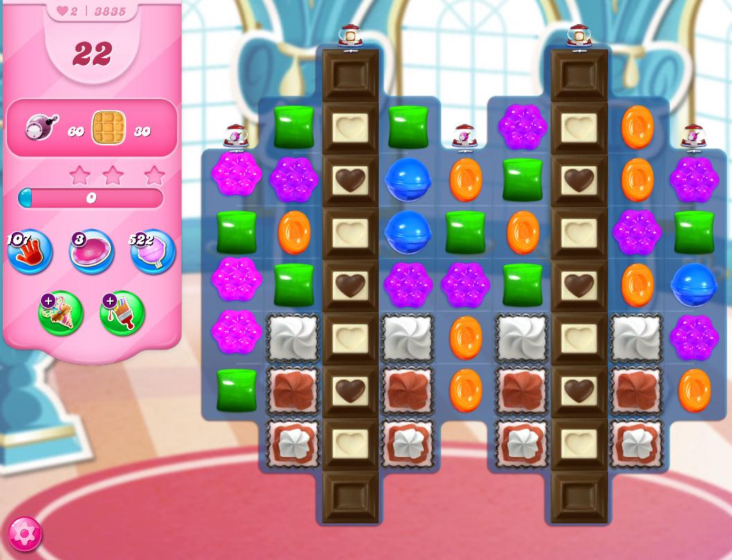 Candy Crush Saga level 3835