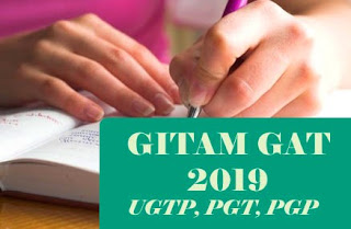 GAT 2019 (UGTP, PGT) : Notification, Exam date, Online Application form, Eligibility, Syllabus, Pattern, Slot Booking