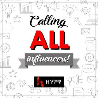 hypr malaysia, jana pendapatan di hypr malaysia, tips jana pendapatan, tips buat duit, tips pendapatan sampingan, influencer,