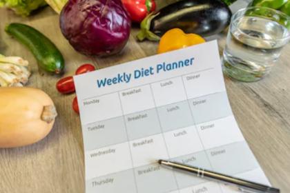 Rencana makan sehat