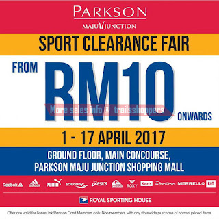Sport Clearance Fair by Royal Sporting House 2017