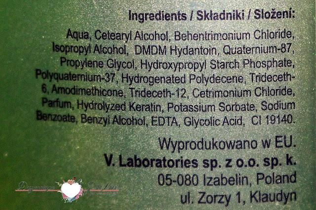 V.Laboratories, odżywcza maska bananowa - Destiny banana nourishing mask | Skład
