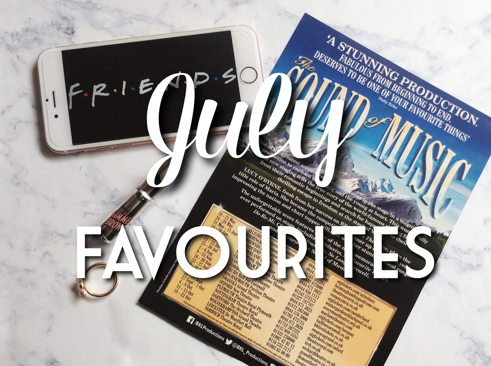july favourites everything erin