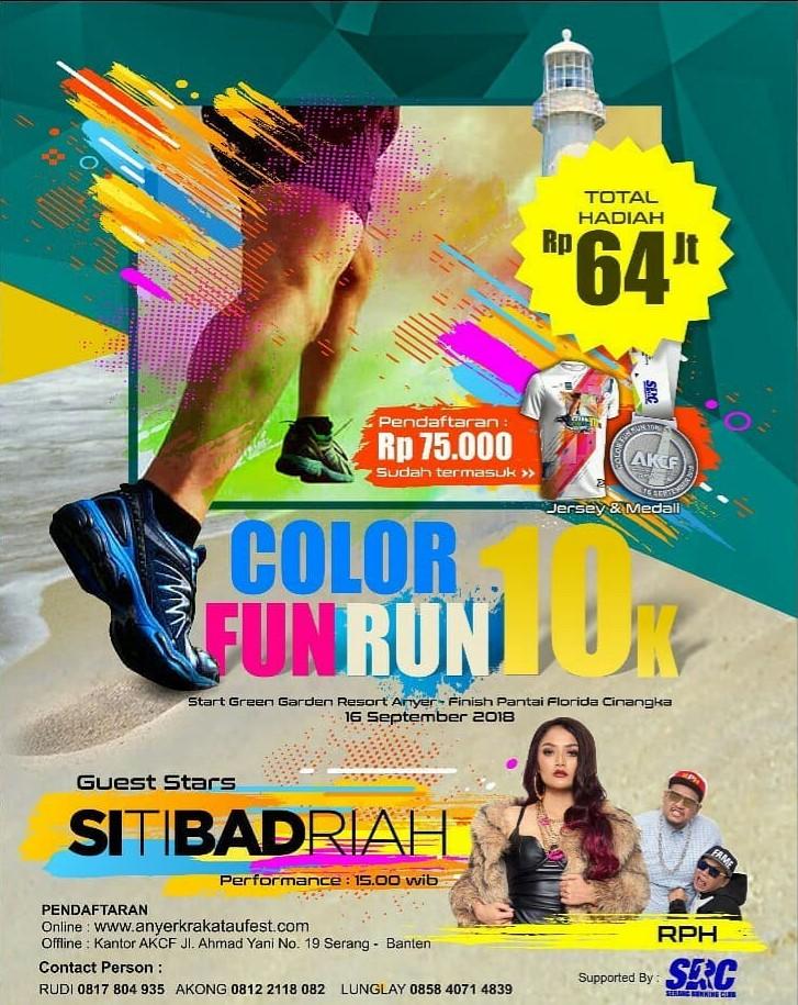 Anyer Color Fun Run • 2018