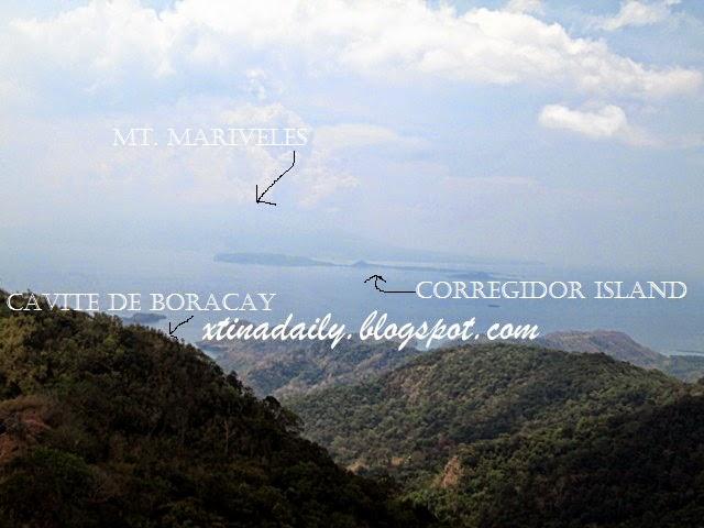 Summit overlooking Corregidor Island