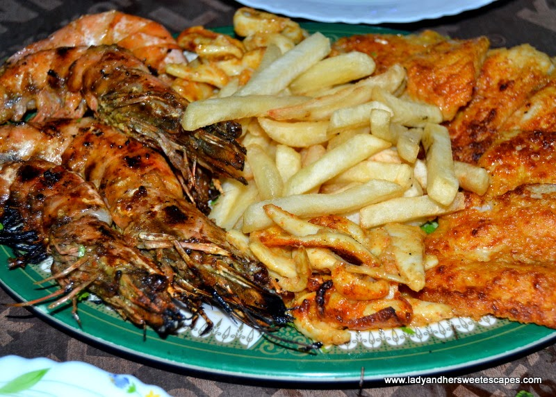 Seafood Platter in Fish Village Seafood Restaurant