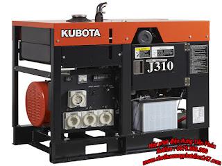 máy phát điện dân dụng Kubota