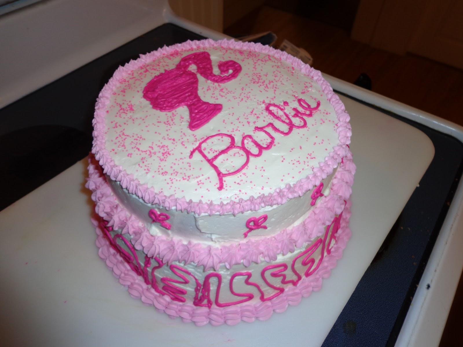 Home Cooked Amp Handmade Barbie Cake