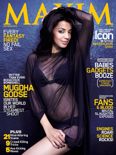 Mugdha Godse's Hot Bikini Cover on Maxim Magazine