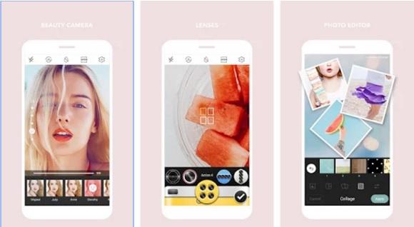 Aplikasi Edit Foto Lucu: Cymera Android