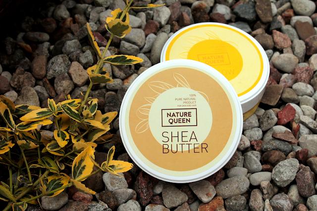 Naturalna pielęgnacja z  Nature Queen. Recenzja masła Shea i Francuskiej Glinki Żółtej