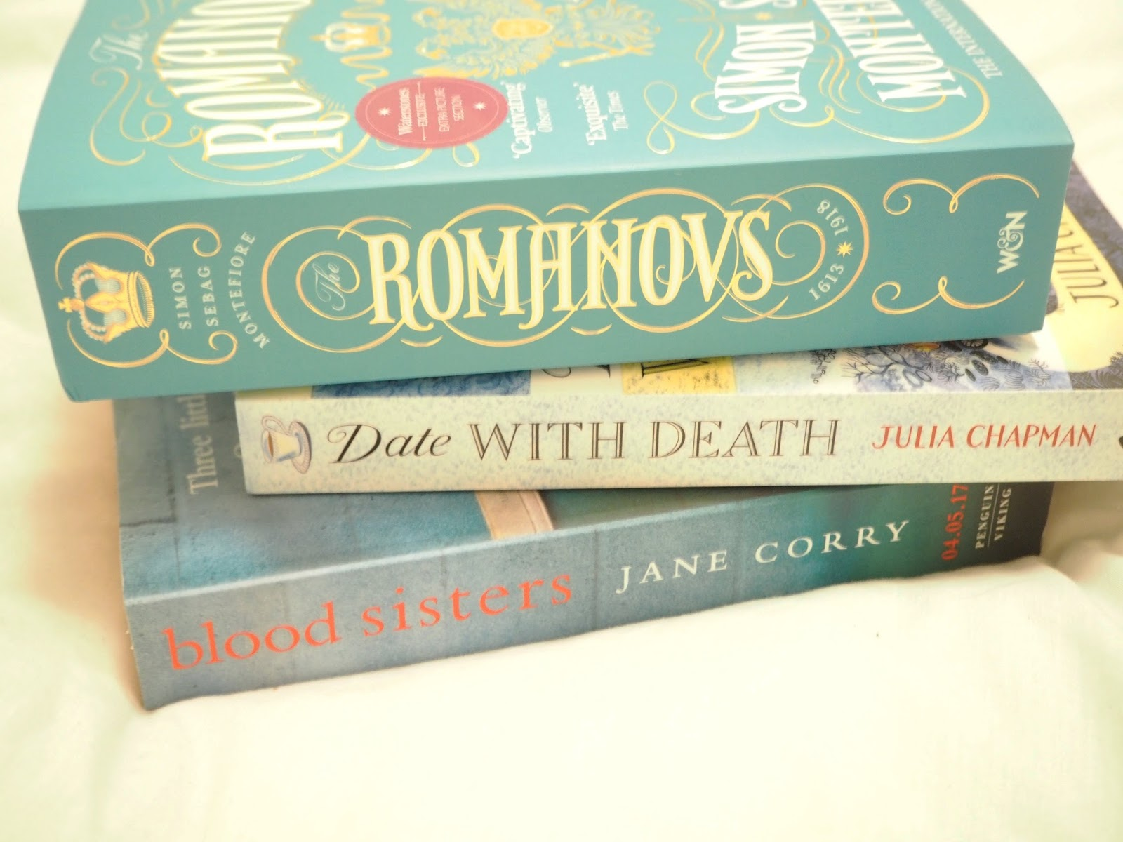 An (incredibly ambitious) April Book Haul
