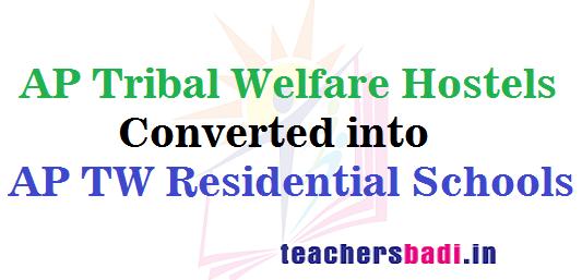 AP Tribal Welfare Hostels,AP TW Residential Schools,APTWRS