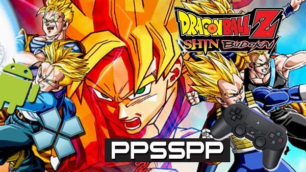 Dragon Ball Z Shin Budokai PPSSPP Iso/Cso