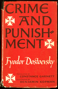 CRIME AND PUNISHMENT - BOOK COVER