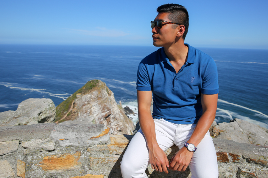 Cape Point, Levitate Style, Travel, Menswear, Cape Town, What to Wear, Versace Polo