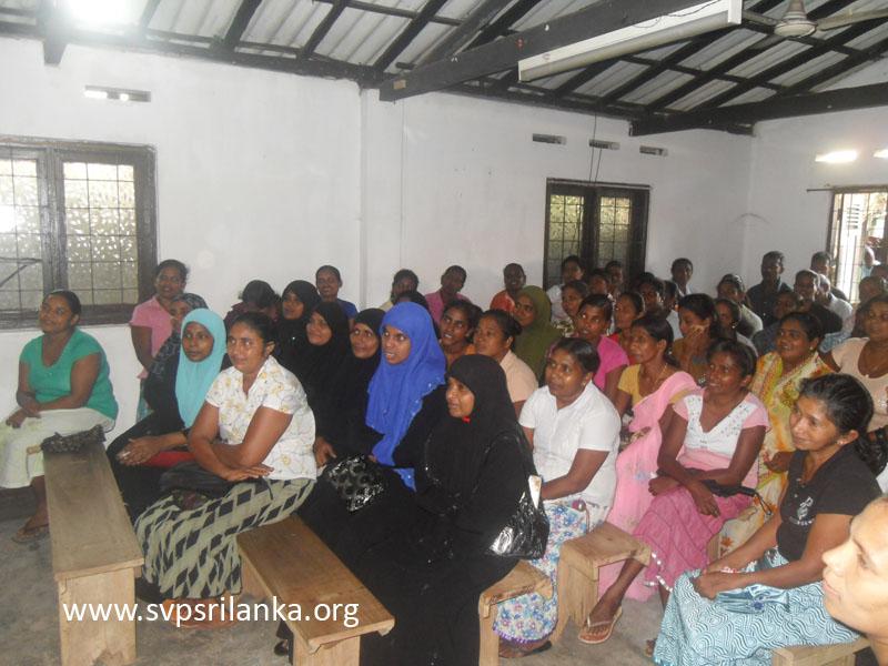 Parents Meeting   St Vincent de Paul Society Sri Lanka