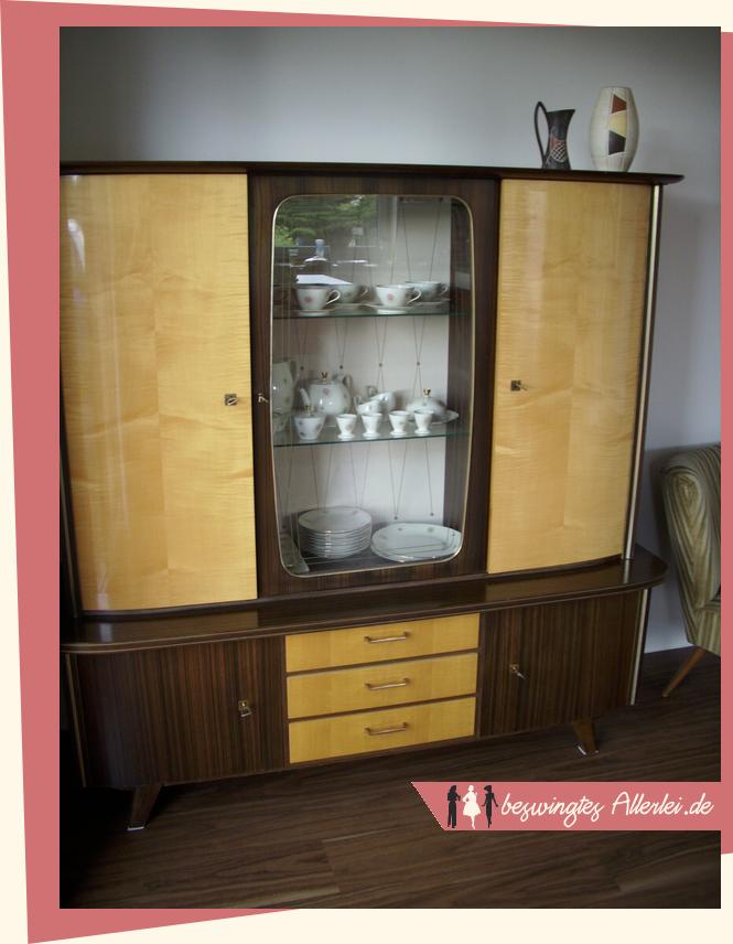 beswingtes allerlei das buffet wohnschrank der 50er jahre. Black Bedroom Furniture Sets. Home Design Ideas